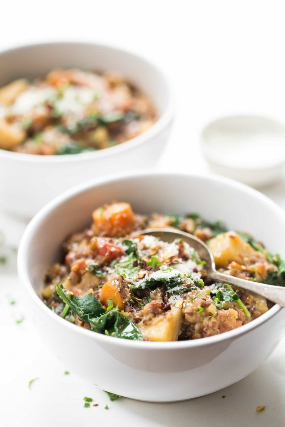 7. One-Pot Root Vegetable Quinoa Stew