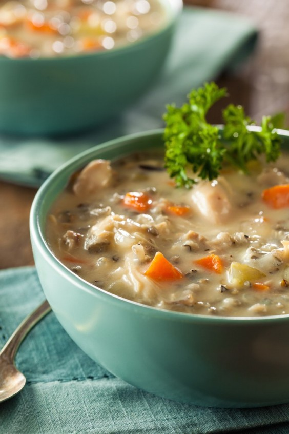 10. Chicken and Wild Rice Soup