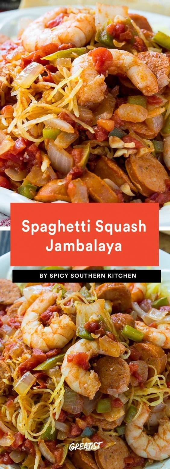 Resep Spaghetti Squash Jambalaya