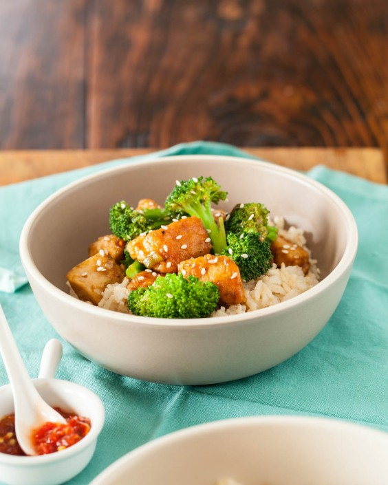3. Healthy General Tso's Chicken
