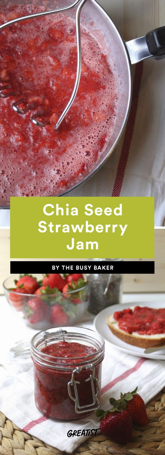 Chia Seed Strawberry Jam