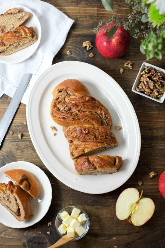 2. Spiced Apple Twist Bread