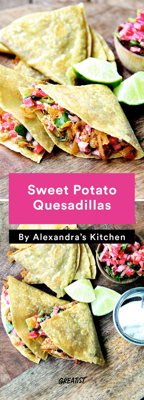 alexandra's kitchen: Sweet Potato Quesadillas