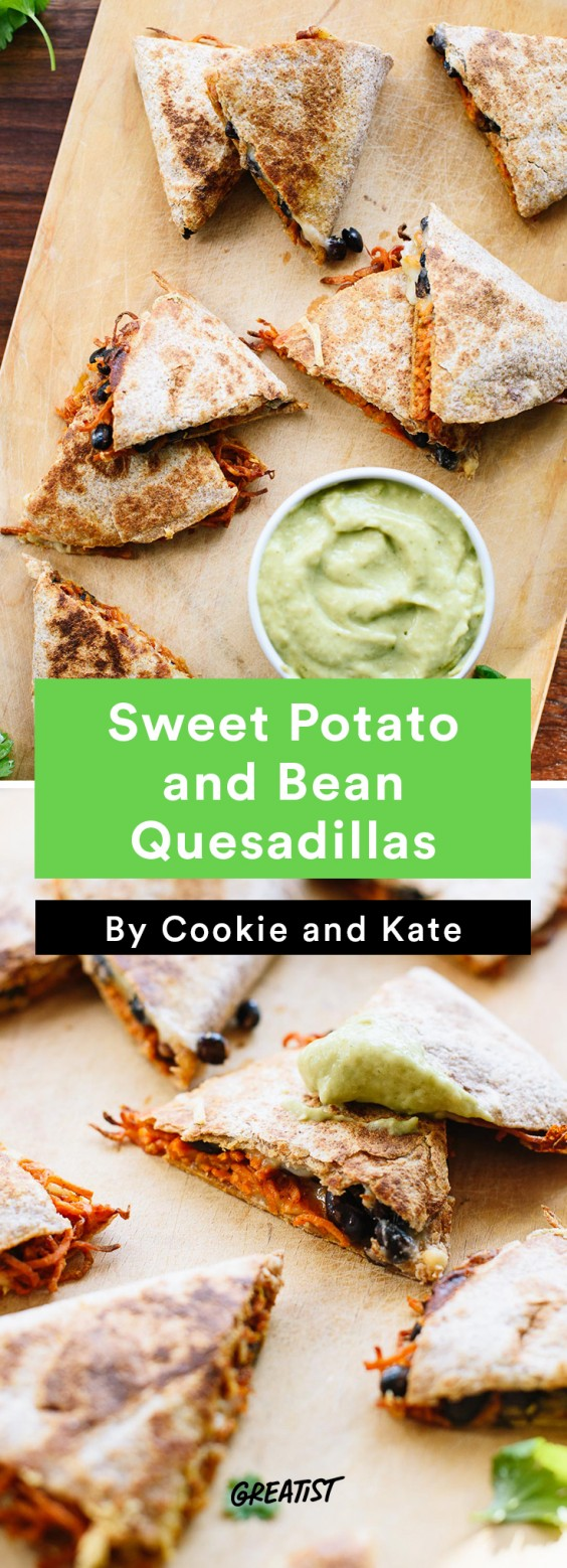 cookie and kate game day: quesadilla