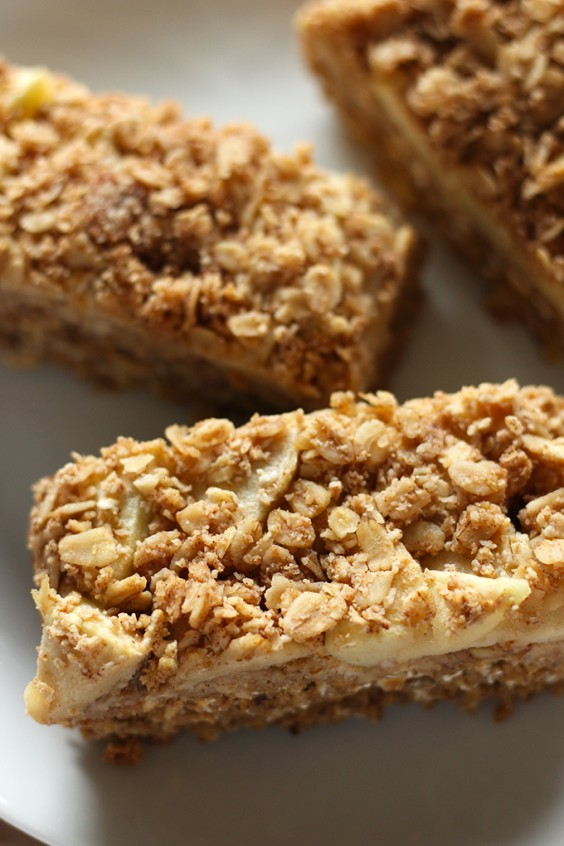 5. Apple Oatmeal Bars