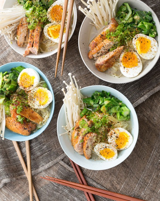 Winter Chicken Ramen