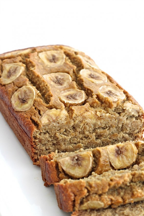 7. Five-Ingredient Flourless Banana Bread