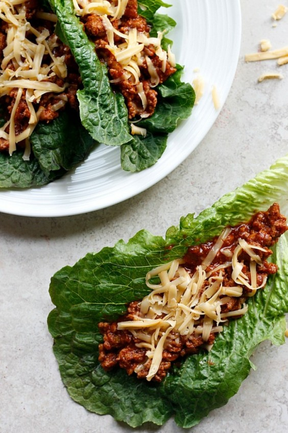 6. Sloppy Joe Lettuce Wraps
