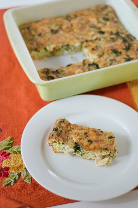 5. Turkey Egg Breakfast Casserole