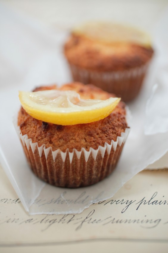 9. Lemon Yogurt Cupcakes
