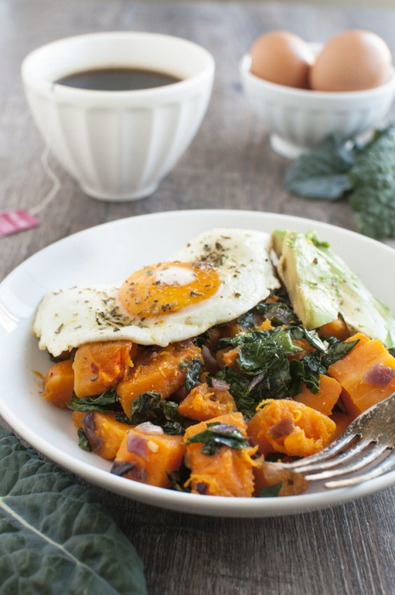 3. Kale and Butternut Squash Breakfast Bowls