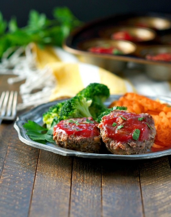4. Lightened-Up Mini Meatloaf