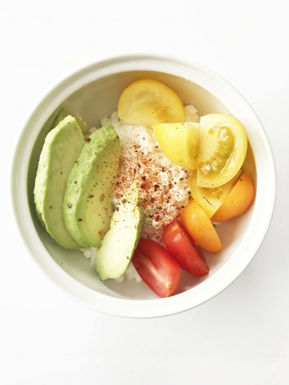 14. California Cottage Cheese Bowl