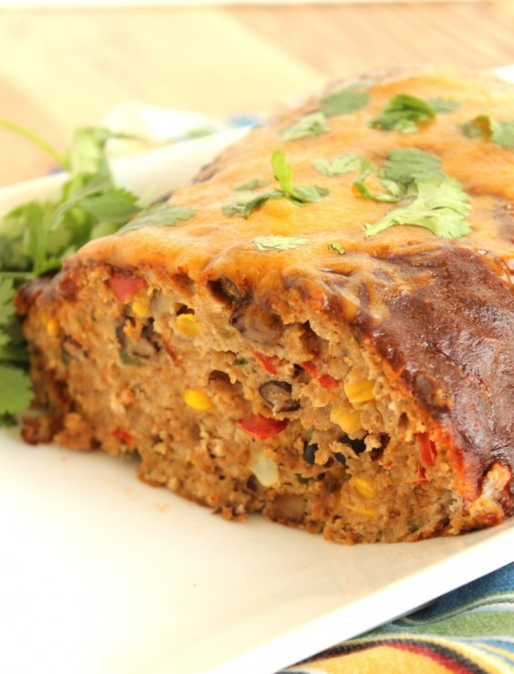 12. Southwestern Turkey Meatloaf