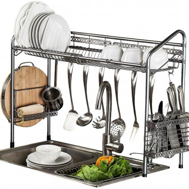 1. PremiumRacks Professional Over the Sink Dish Rack