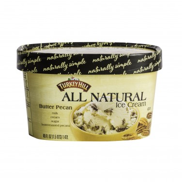 Turkey Hill All Natural Ice Cream Butter Pecan