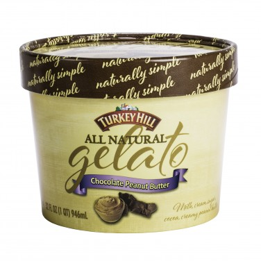 Turkey Hill All Natural Gelato Chocolate Peanut Butter