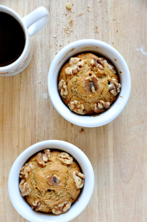 Cooking For Two: Vegan Banana Nut Muffins Recipe