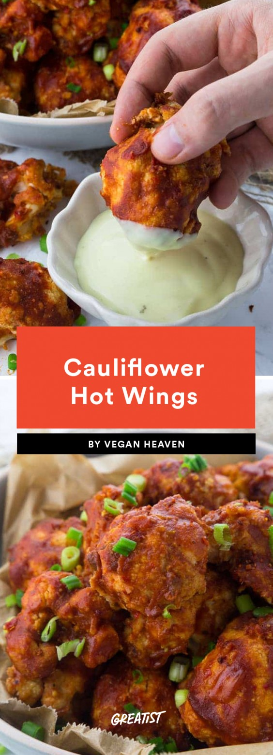 Cauliflower Hot Wings