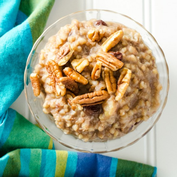 6. Instant Pot Buckwheat Porridge