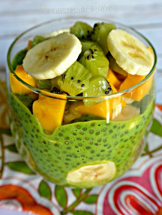 2. Green Chia Pudding