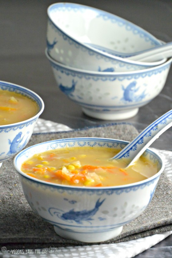 7. Indo-Chinese Corn Soup