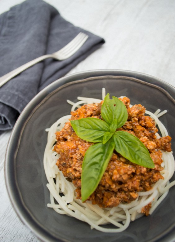 9. Healthy Bolognese
