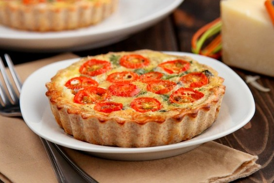 Whole Wheat Quiche