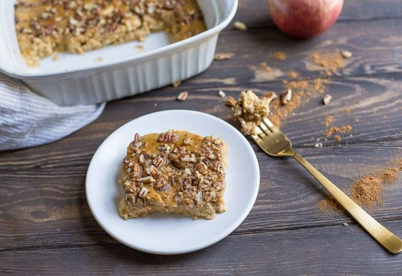 Pumpkin Apple Breakfast Bake