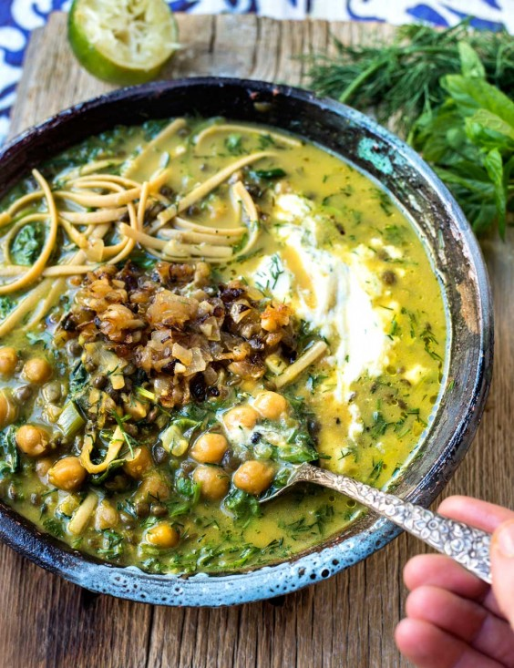 3. Persian and Iranian-Inspired Noodle Soup