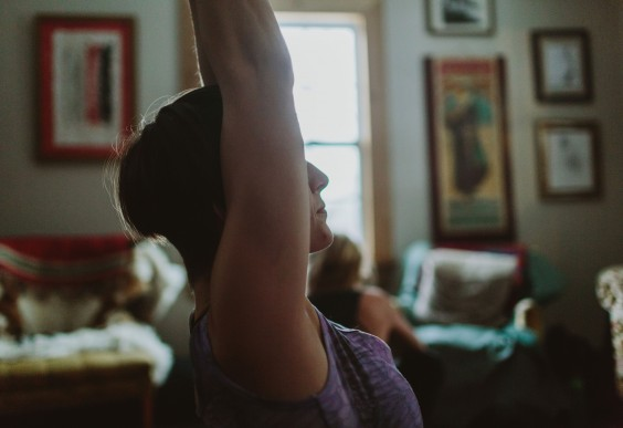 Increase Creativity: Yoga Stretch at Home