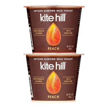 1. Kite Hill Artisan Almond Milk Yogurt