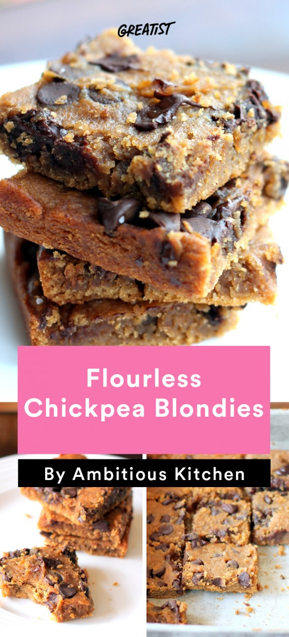 Ambitious Kitchen Roundup: Chickpea Blondies