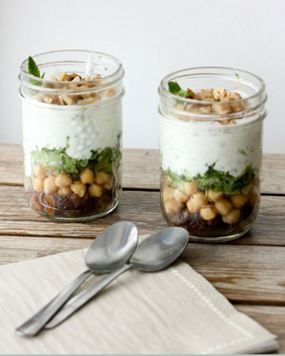 Chickpea Yogurt Parfait