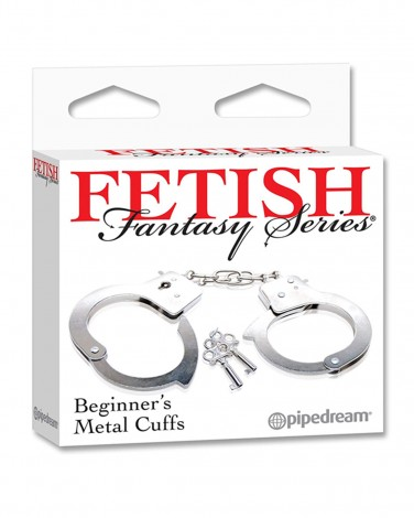 Fetish Fantasy Series Beginning's Metal Cuffs