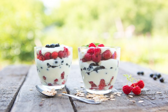 Fourth of July Berry Parfait