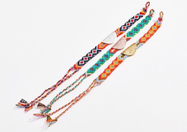 1. Lucy Folk Friendship Bracelet