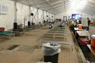 Boston Marathon Medical Tent