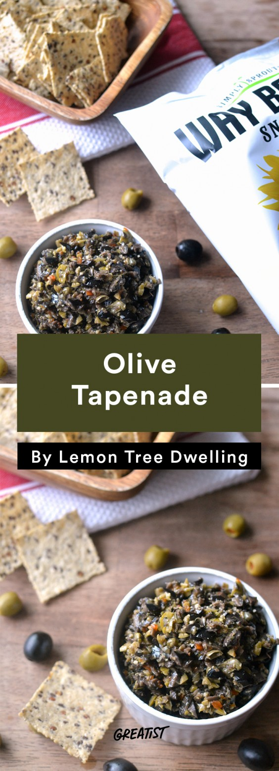 Better Dips: Tapenade