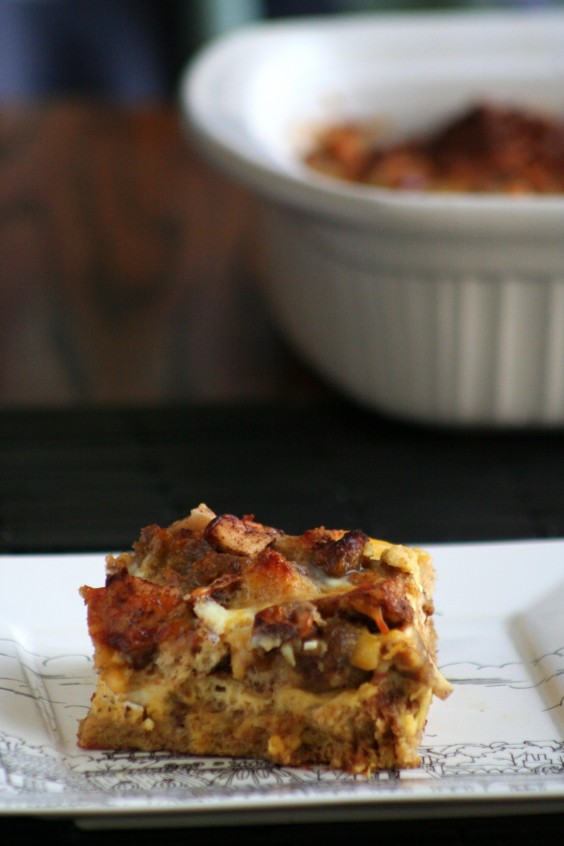 Healthy Casseroles: Sausage and Spiced Apple
