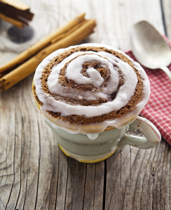 Mug Meals: Cinnamon Roll