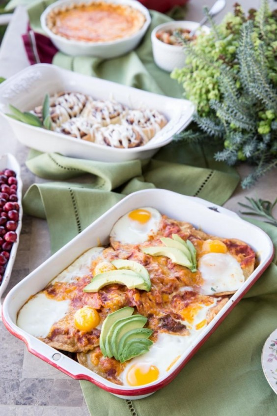 Healthy Casseroles: Huevos Rancheros