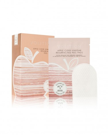 2. Volition Beauty Apple Cider Vinegar Peel Pads
