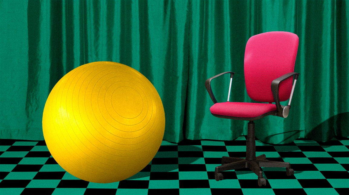 The Do S And Don Ts Of Using A Yoga Ball Chair According To Science