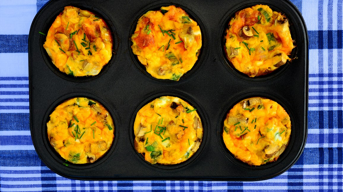 Egg muffins: Low-Carb Breakfast Ideas