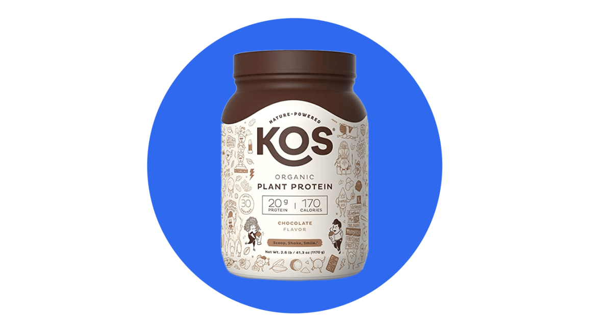 kos plant based protein powder