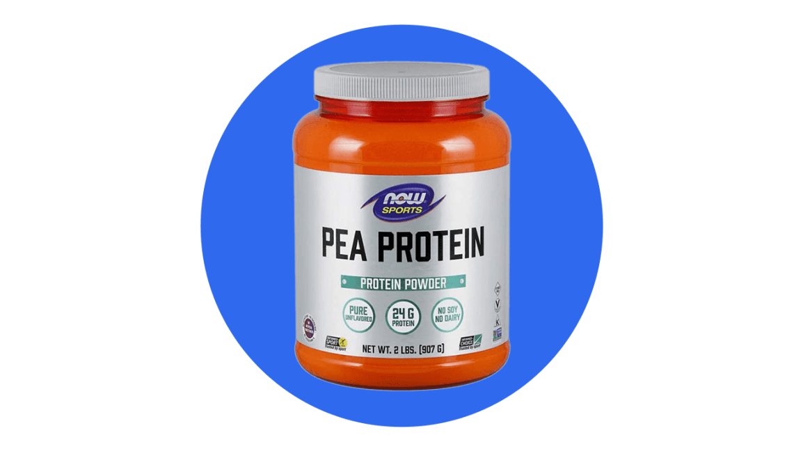 pea protein plant based protein powder