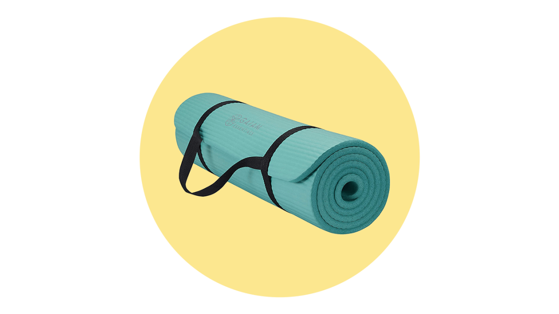 gaiam essentials yoga mat