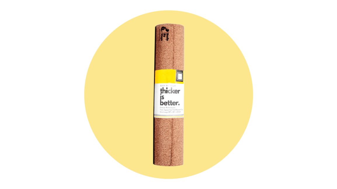 body by yoga cork yoga mat