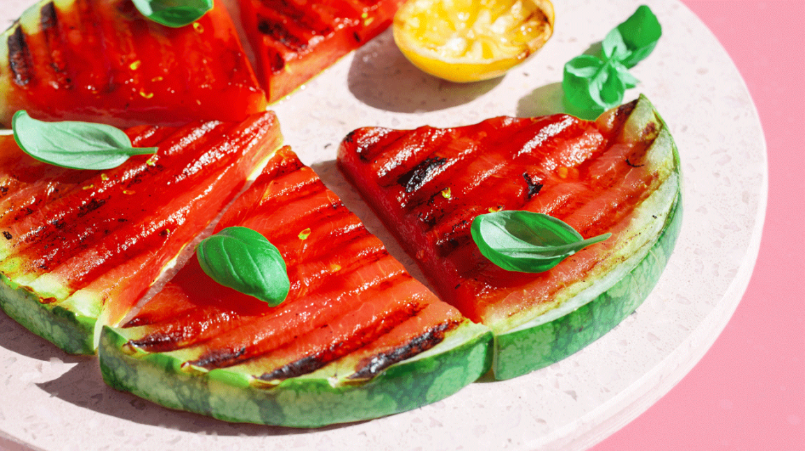 Unexpected grill recipe grilled watermelon header